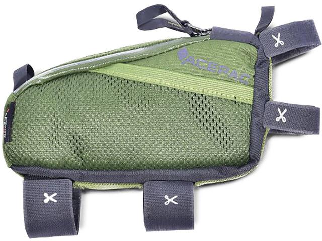 Acepac Fuel Sacoche pour cadre de vélo M, green